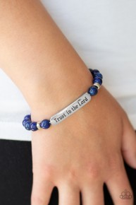 Trust Always - Blue Urban Bracelet