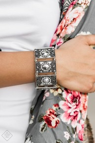 Tycoon Texture - Silver Bracelet