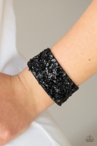 Starry Sequins - Black Urban Bracelet