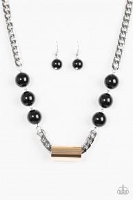 All About Attitude - Multi/Black Necklace