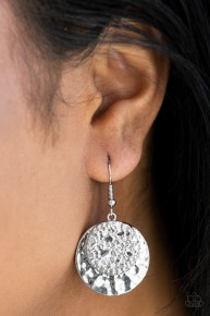 Texture Tribute - Silver Earrings