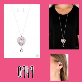 One Heart - Pink Lanyard