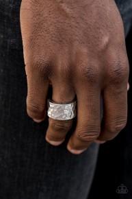 Self-Made Man - Silver Men's Ring