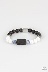 Run Out The Block - Blue Urban Bracelet
