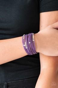 Back to BACKPACKER - Purple Urban Bracelet