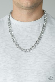Undefeated - Silver Urban Necklace