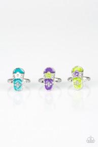 Starlet Shinmer Ring - Green  Flip Flop