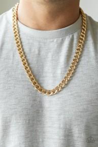 Alpha - Gold Urban Chain Necklace