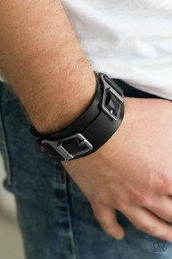 Scout It Out - Black Urban Bracelet