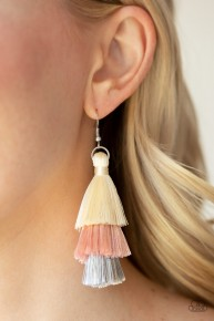 Hold On To Your Tassel! - Pink Earrings