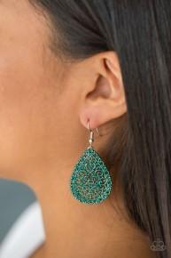Indie Idol - Green Earrings