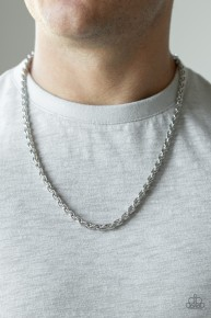 Instant Replay - Silver Urban Necklace