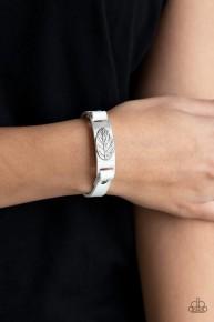 Take The Leaf - White Urban Bracelet