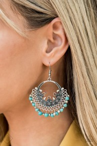 Canyonlands Celebration - Blue Earrings
