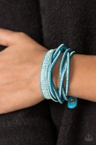 Taking Care of Business - Blue Urban Bracelet