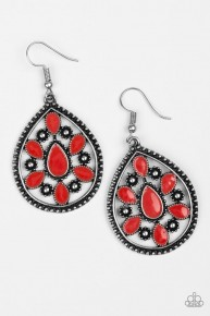 SprIng Arrival - Red Earrings