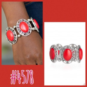 Rodeo Rancho - Red Bracelet