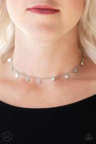 Chime A Little Brighter - Silver Choker