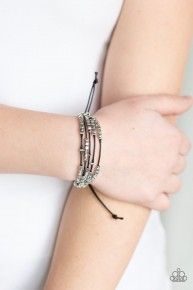 Modern Minimalism - Black Bracelet
