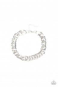 On The Ropes - Silver Urban Chain Bracelet