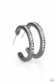 Hoop Haven - Black Hoop Earrings