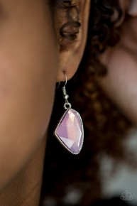 Mystic Mist - Pink Earrings