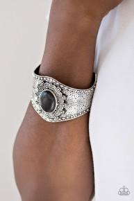 Mojave Majesty - Black Cuff Bracelet