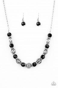 Metro Majestic - Black Necklace