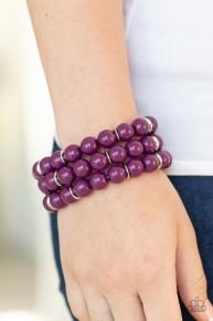 Chroma Collision - Purple Bracelet