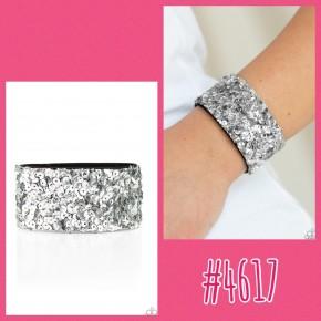 Starry Sequins - Silver Urban Bracelet
