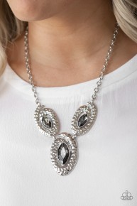 Metro Mystique - Silver Necklace