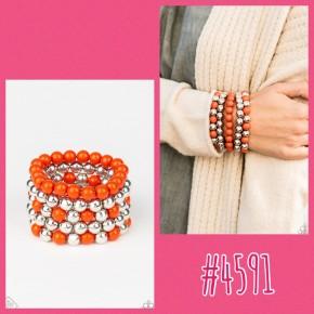 Pop-YOU-lar Culture - Orange Bracelet