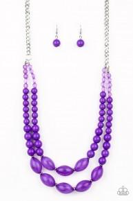 Sundae Shoppe - Purple Necklace