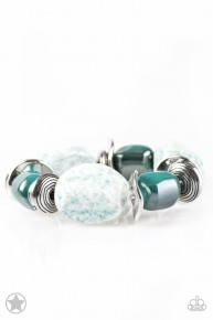Glaze Of Glory - Blue Blockbuster Bracelet