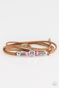 Find Your Way Back - Pink Urban Bracelet