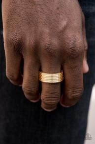 A Man's Man - Man's Gold Ring