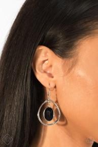 Make Noir Mistake - Black Earrings