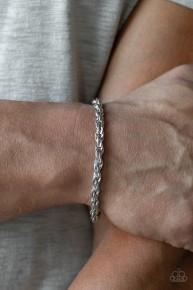 Last Lap - Silver Urban Bracelet