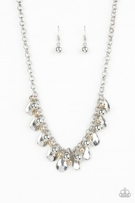 Stage Stunner - Silver Necklace