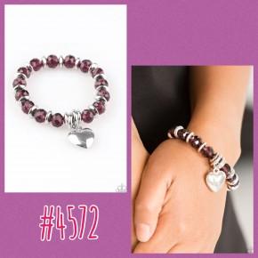 Need I Say Amour - Purple Bracelet