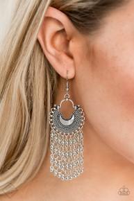 Catching Dreams - Silver Earrings