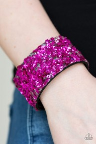 Starry Sequins - Pink Urban Bracelet