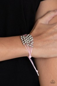Without Skipping A Bead - Pink Bracelet