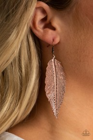 Lookin' For A Flight - Copper Earrings