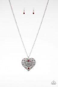 Classic Casanova - Red Necklace