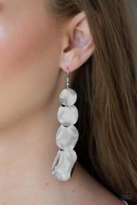 Modern Mecca - Silver Earrings