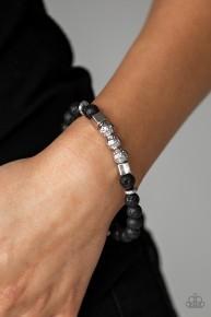 Sensei And Sensibility - Black Urban Bracelet