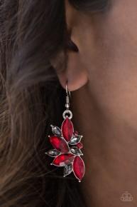 Vegas Vogue - Red Earrings