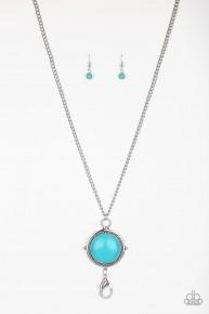 Desert Equinox - Blue Lanyard Necklace
