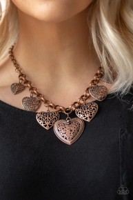 Love Lockets - Copper Necklace